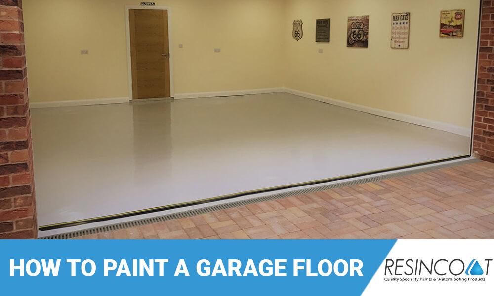 how to paint garage floor paint