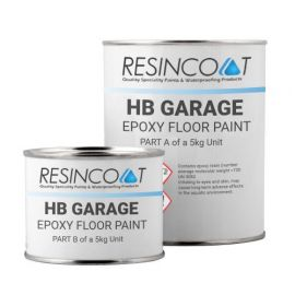 Resincoat HB Epoxy Garage Floor Panit - Custom RAL
