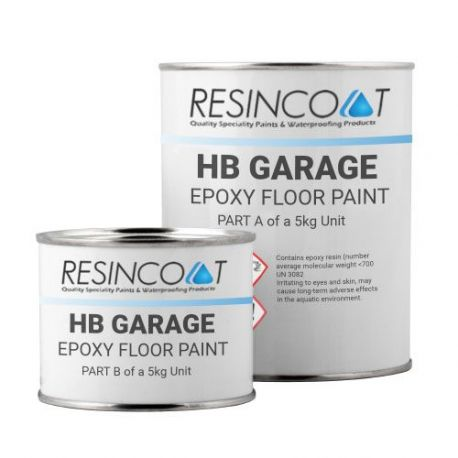 Resincoat HB Epoxy Garage Floor Paint - Custom RAL