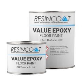 Resincoat Epoxy Garage Value Floor Paint