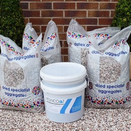 Resin Bound Driveway Contractor Kit UV Stable