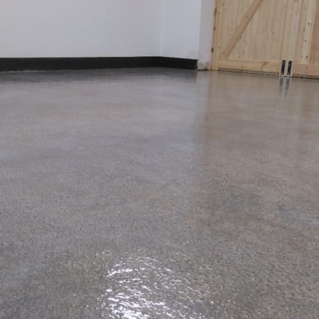 Penny Floor with Resincoat Epoxy Clear