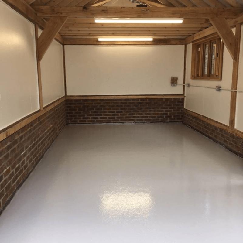 Single Garage Floor Paint Bundle, How Much Do It Cost To Paint A Garage Floor