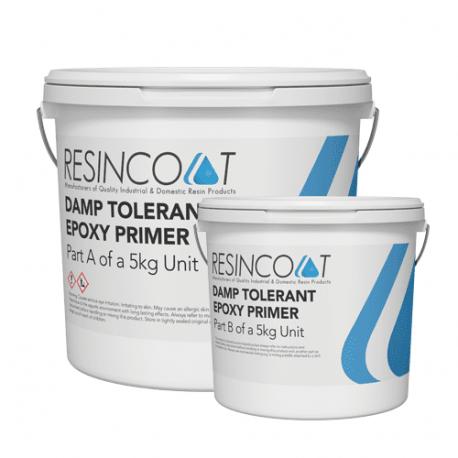 Damp Tolerant Epoxy Resin Paint/Primer