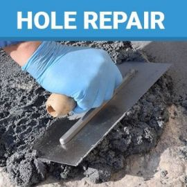 Concrete Hole Repair