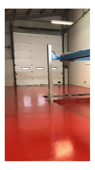 High Build Garage Floor Paint Tomato Red